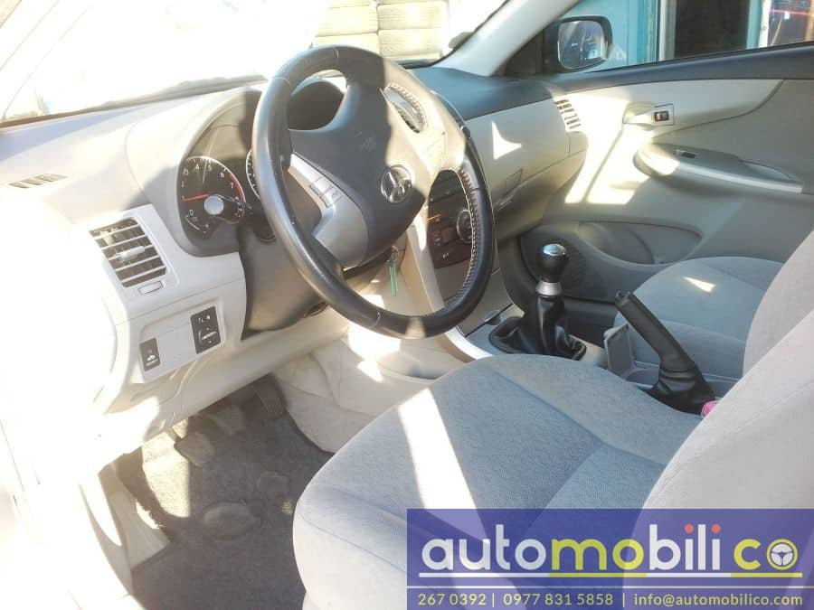 2010 Toyota Corolla Altis G - Interior Front View