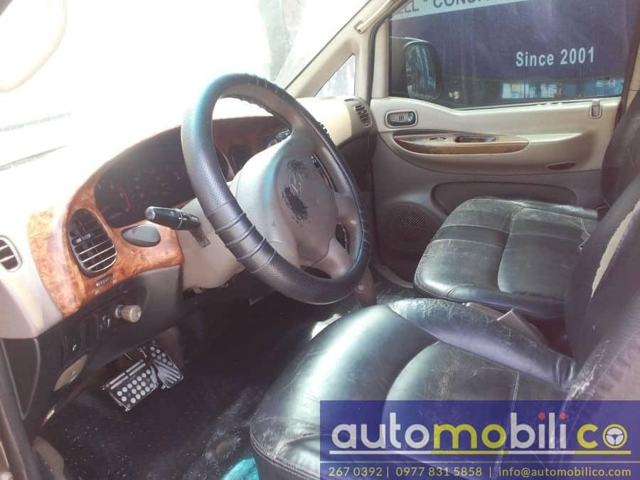 1999 Hyundai Starex - Interior Front View