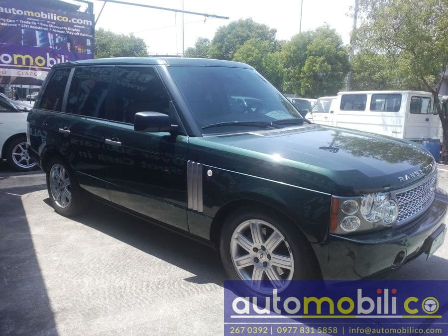 2004 Land Rover Range Rover - Right View