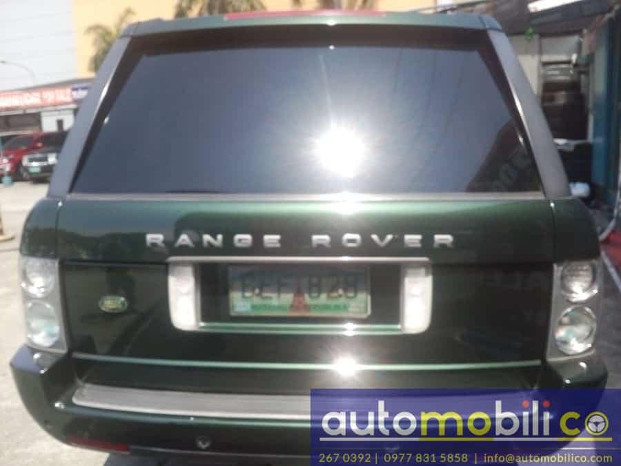 2004 Land Rover Range Rover - Rear View