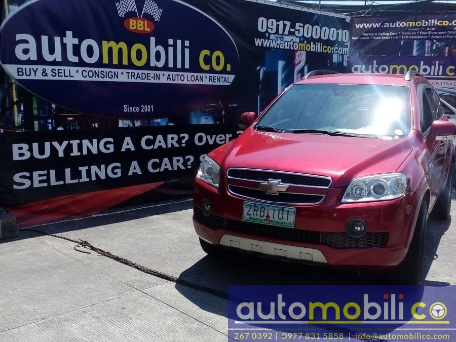 2008 Chevrolet Captiva - Front View