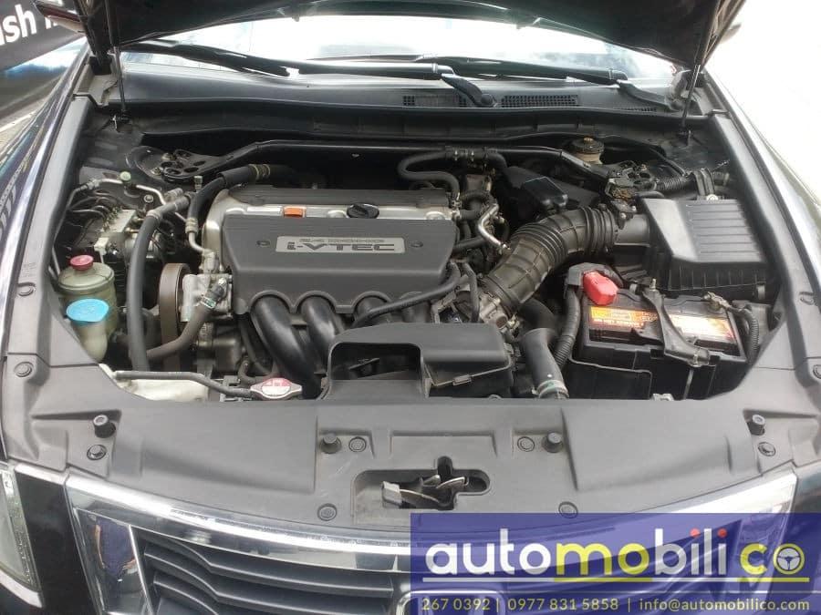 2010 Honda Accord - Interior Rear View