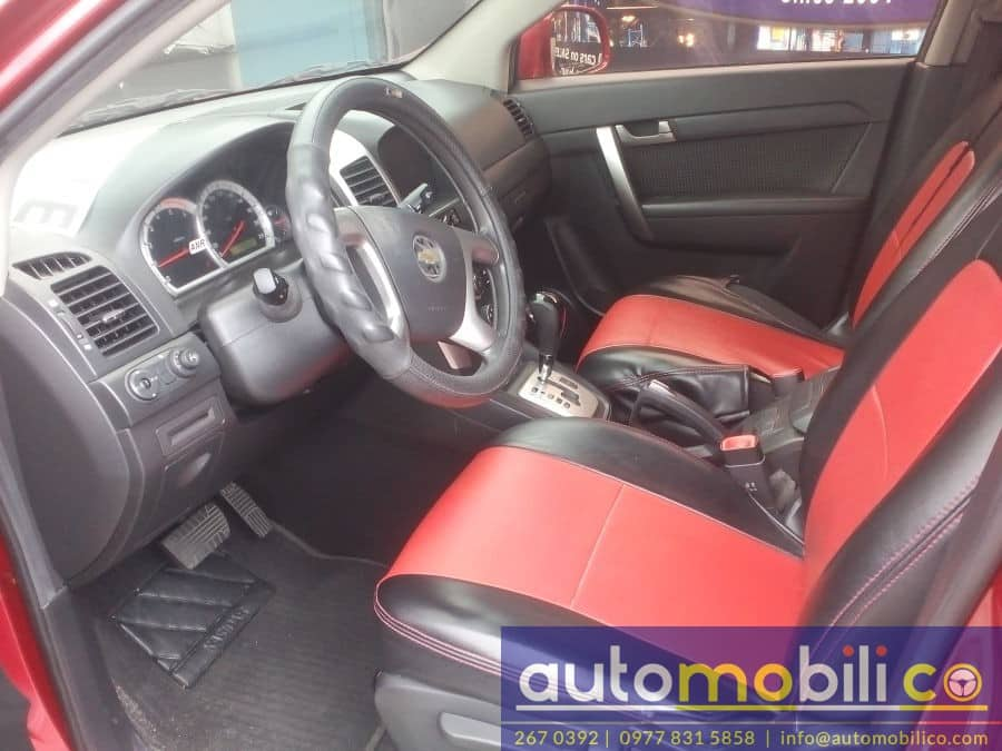 2010 Chevrolet Captiva - Interior Front View