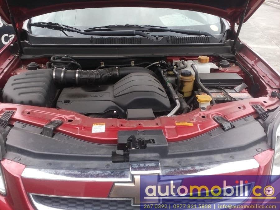 2010 Chevrolet Captiva - Interior Rear View