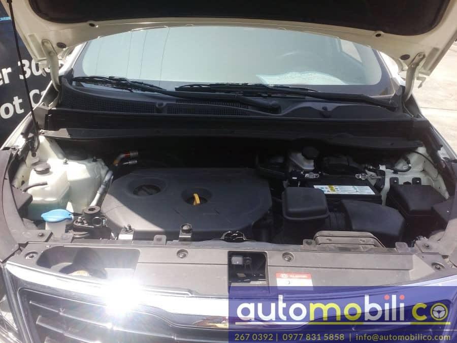2014 Kia Sportage - Interior Rear View