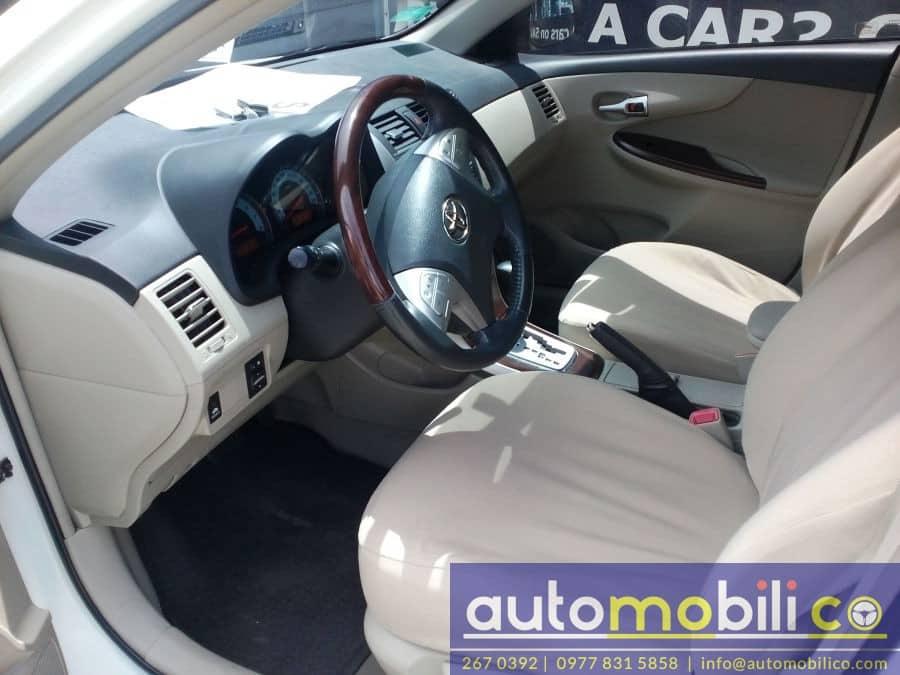 2011 Toyota Corolla Altis V - Interior Front View