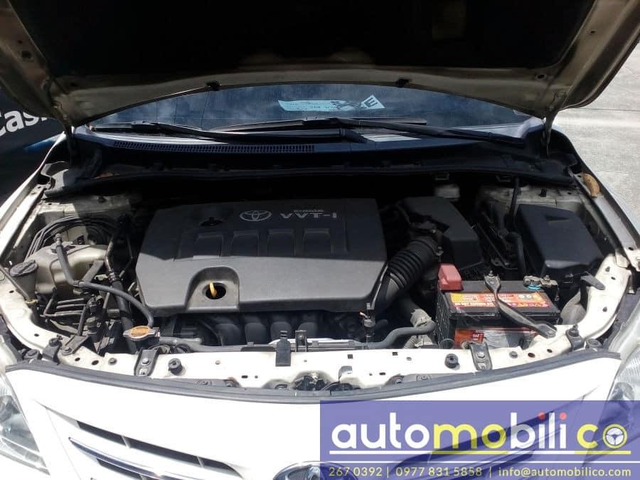 2011 Toyota Corolla Altis V - Interior Rear View