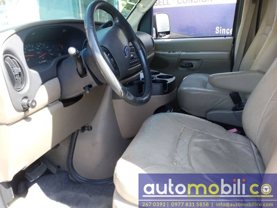 2005 Ford E-150 - Interior Front View