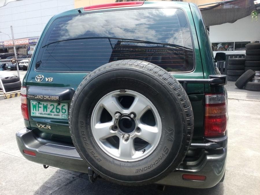 1998 Toyota Land Cruiser - Rear View
