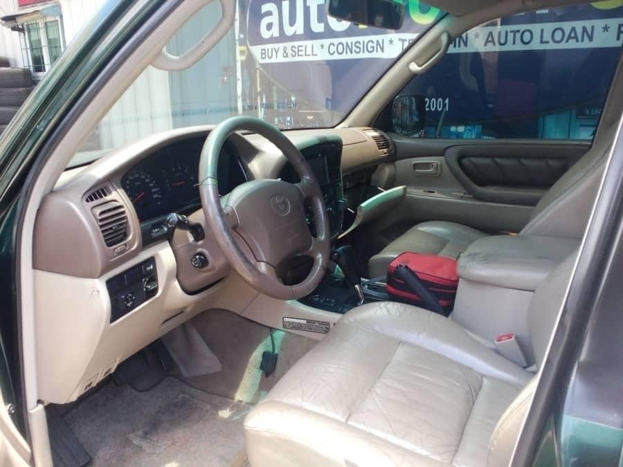 1998 Toyota Land Cruiser - Interior Front View