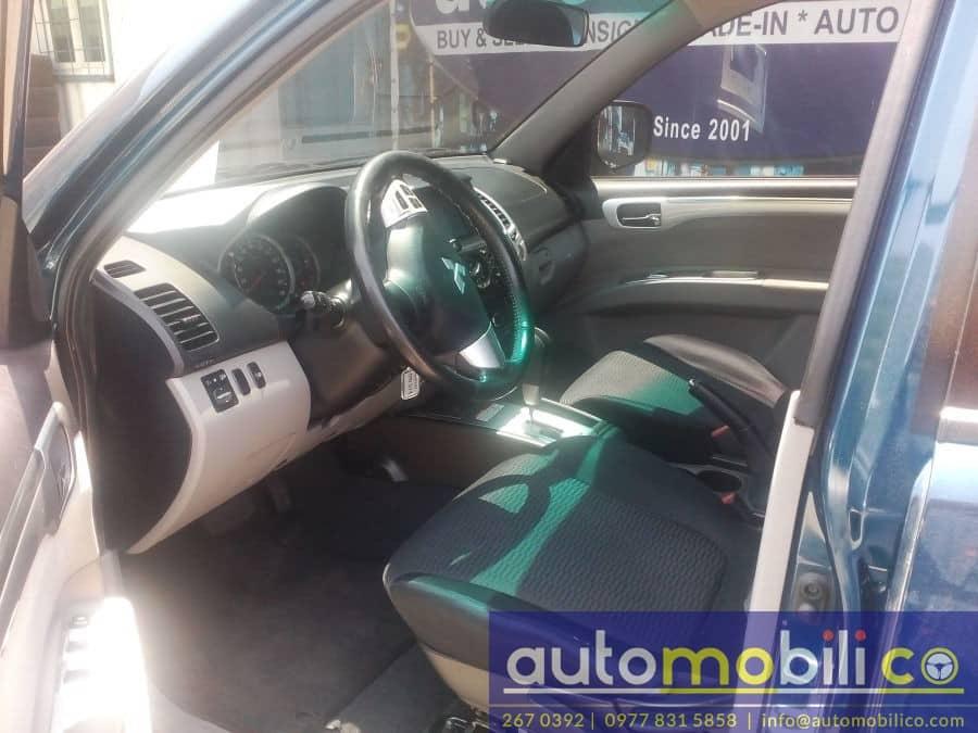 2011 Mitsubishi Montero Sport - Interior Front View