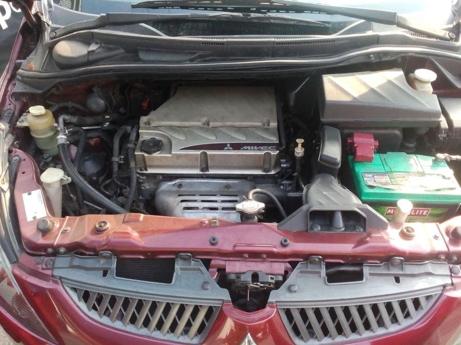2007 Mitsubishi Grandis - Interior Rear View
