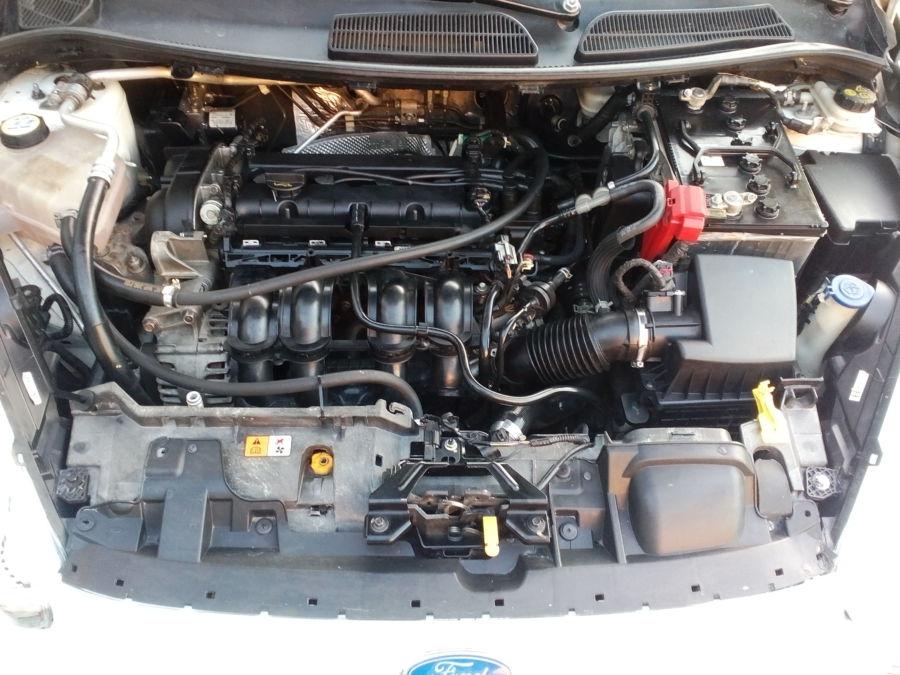 2013 Ford Fiesta - Interior Rear View