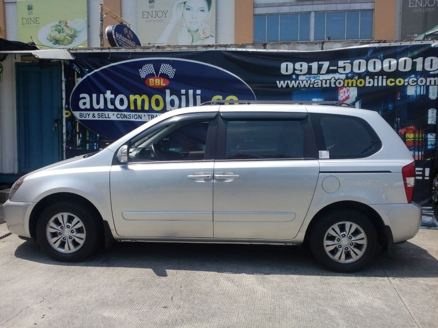 2012 Kia Carnival - Left View