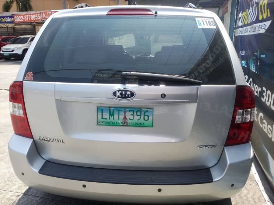 2012 Kia Carnival - Rear View