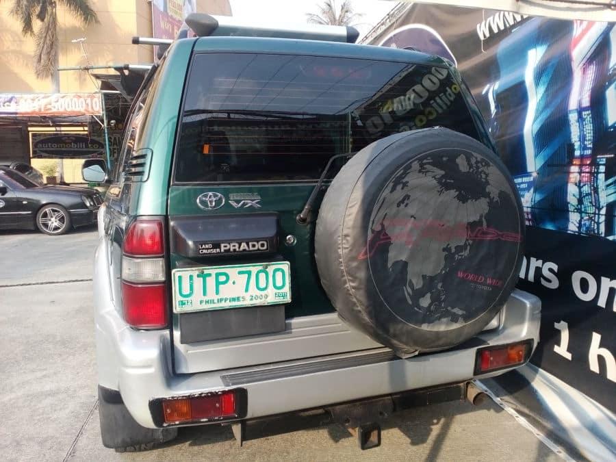 1997 Toyota Land Cruiser Prado - Rear View