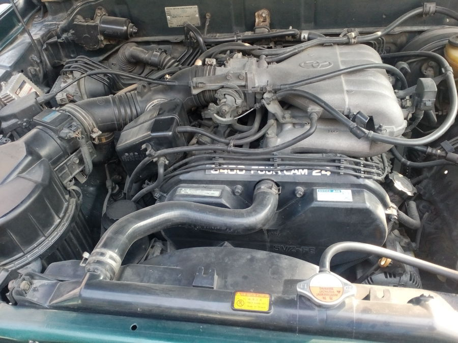 1997 Toyota Land Cruiser Prado - Interior Rear View
