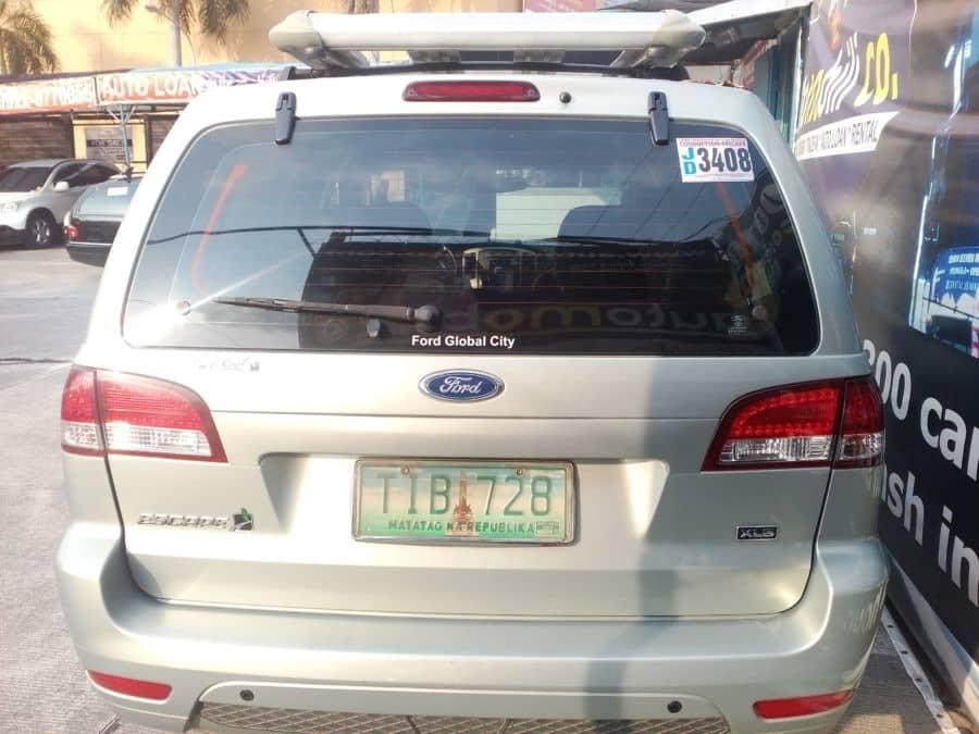 2011 Ford Escape - Rear View