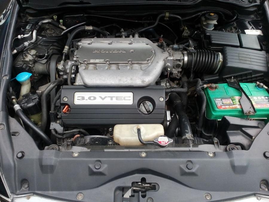 2005 Honda Accord - Interior Rear View