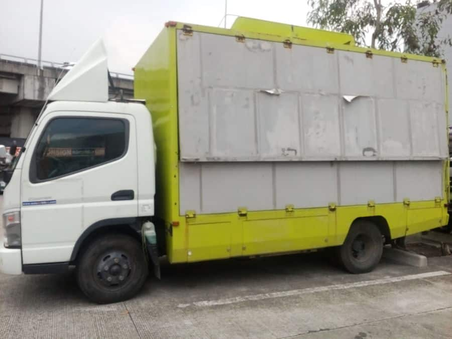 2012 Mitsubishi Canter - Left View