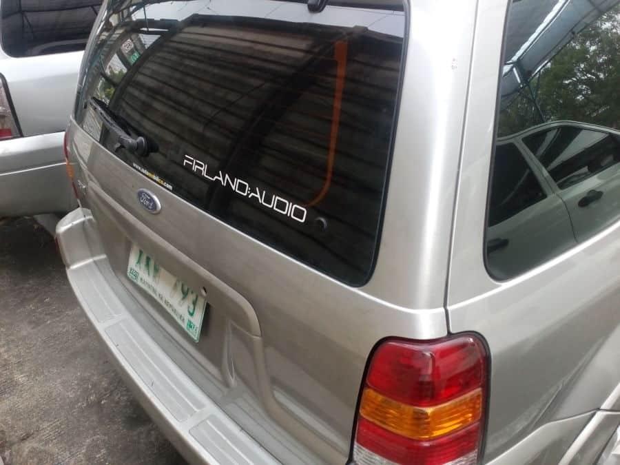 2003 Ford Escape - Rear View