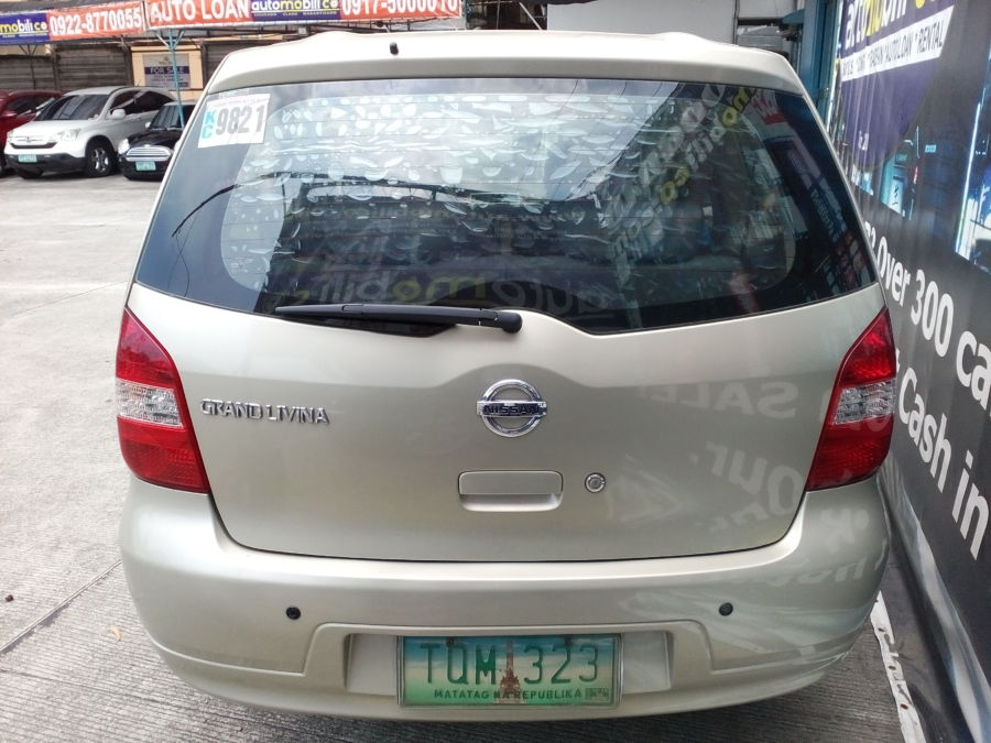 2012 Nissan Grand Livina - Rear View