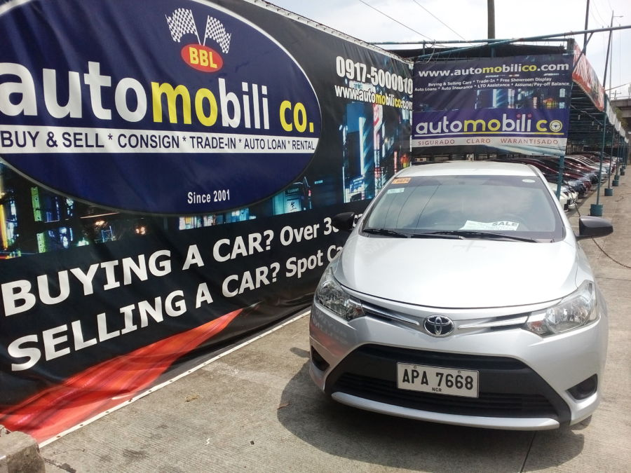 2015 Toyota Vios - Front View