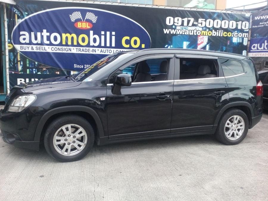 2013 Chevrolet Orlando - Left View