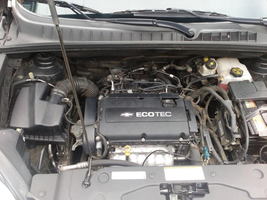 2013 Chevrolet Orlando - Interior Rear View