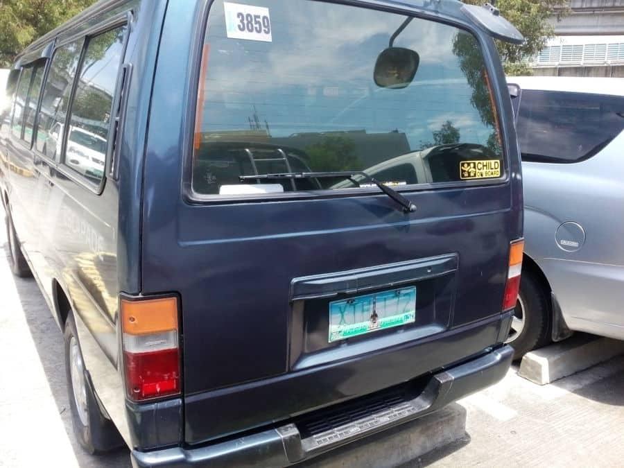 2005 Nissan Urvan - Rear View