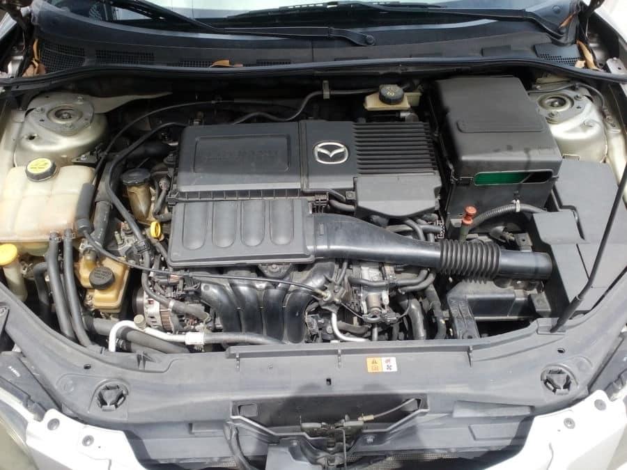2004 Mazda 3 - Interior Rear View