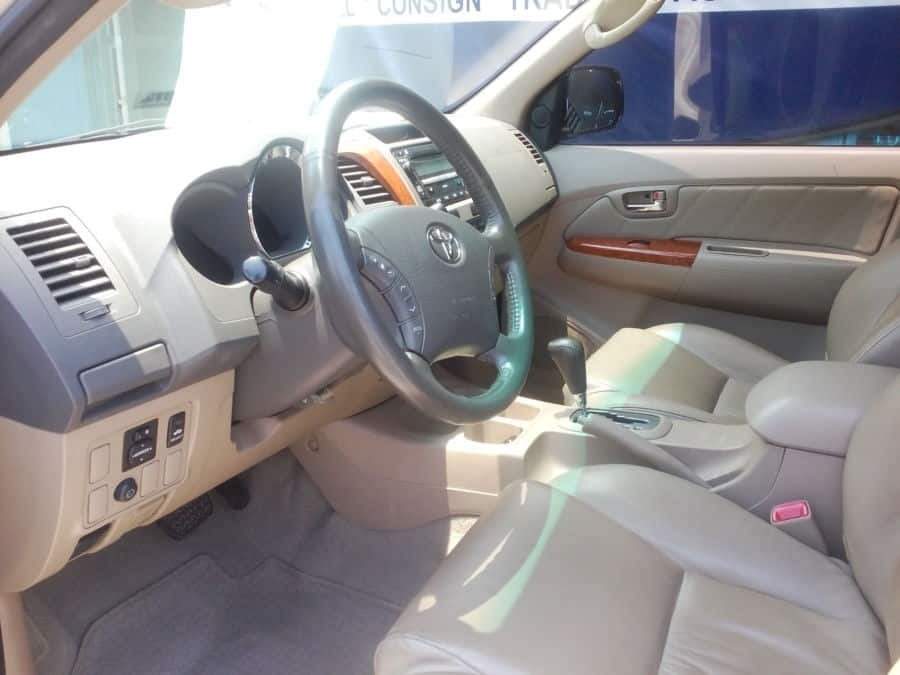 2011 Toyota Fortuner - Interior Front View