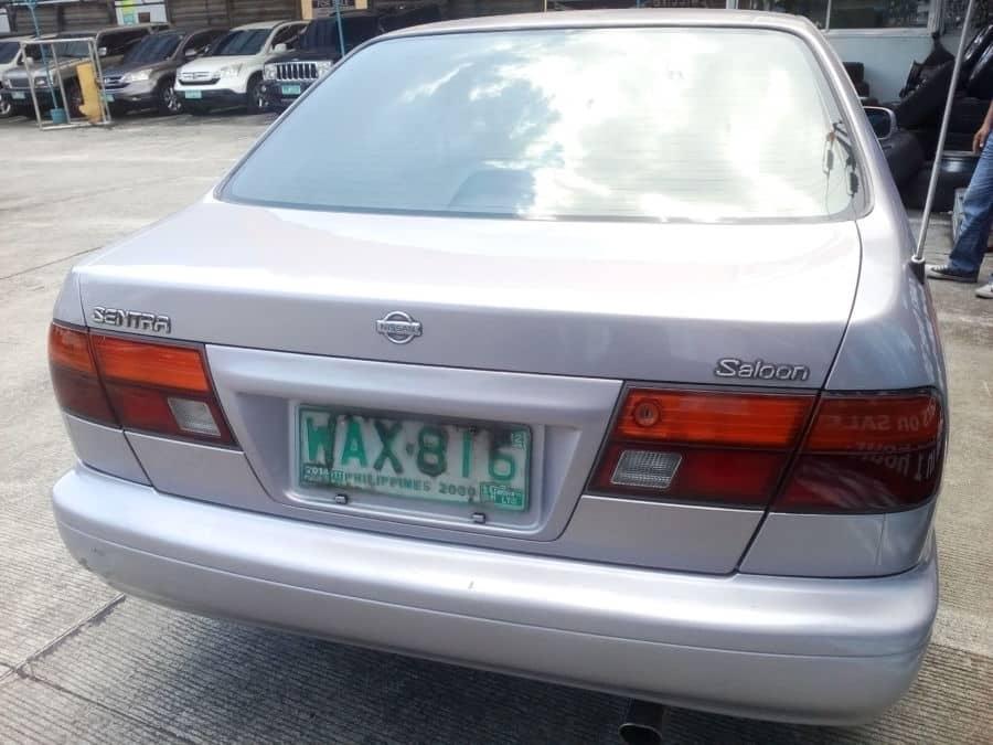 1998 Nissan Sentra - Rear View
