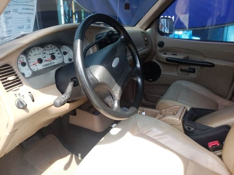 2003 Ford Explorer Sport Trac - Interior Front View