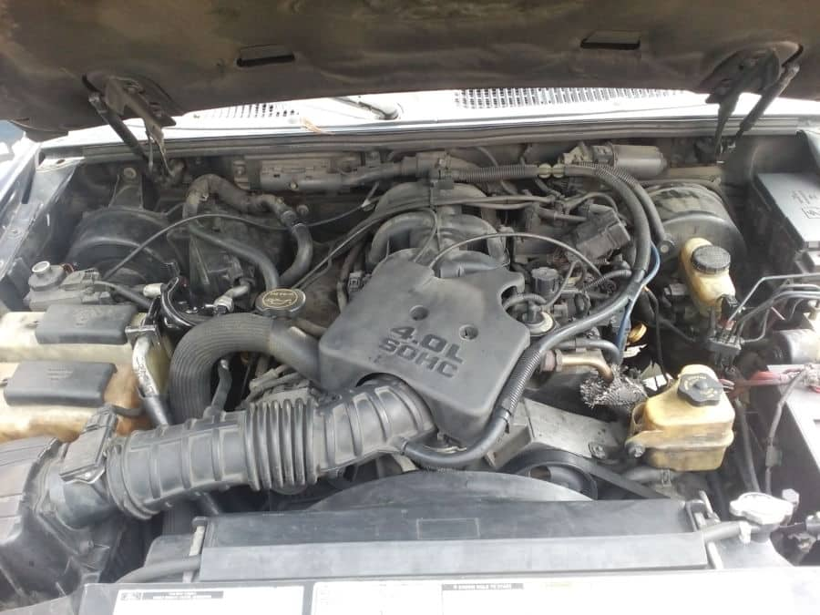 2003 Ford Explorer Sport Trac - Interior Rear View
