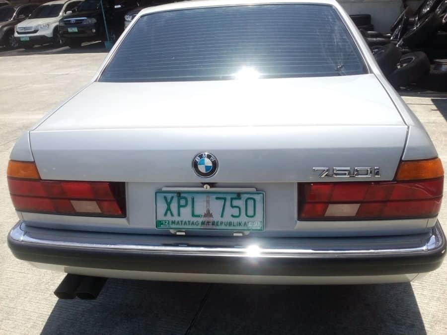 1992 BMW 750 - Rear View