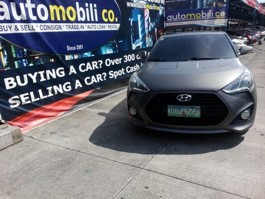 2013 Hyundai Veloster - Front View