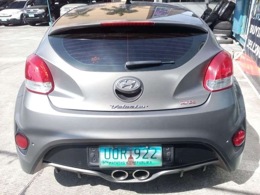 2013 Hyundai Veloster - Rear View