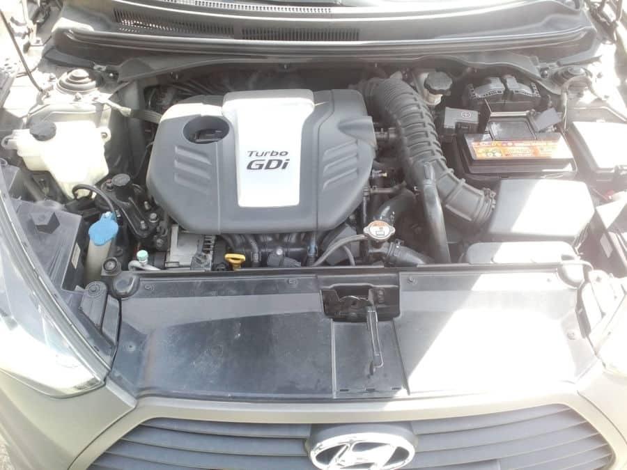 2013 Hyundai Veloster - Interior Rear View