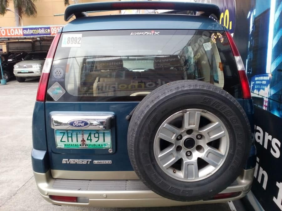 2007 Ford Everest - Rear View