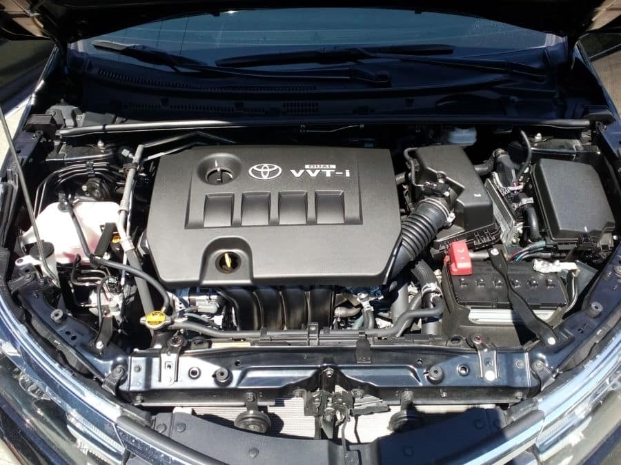 2015 Toyota Corolla Altis G - Interior Rear View
