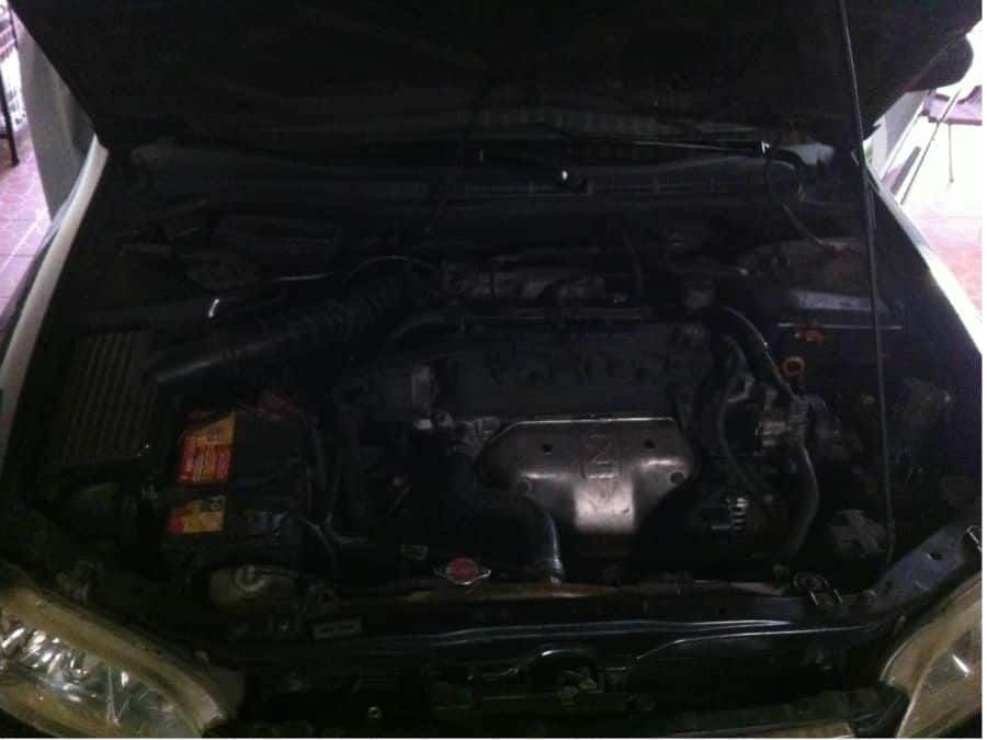 1998 Honda Accord - Interior Rear View
