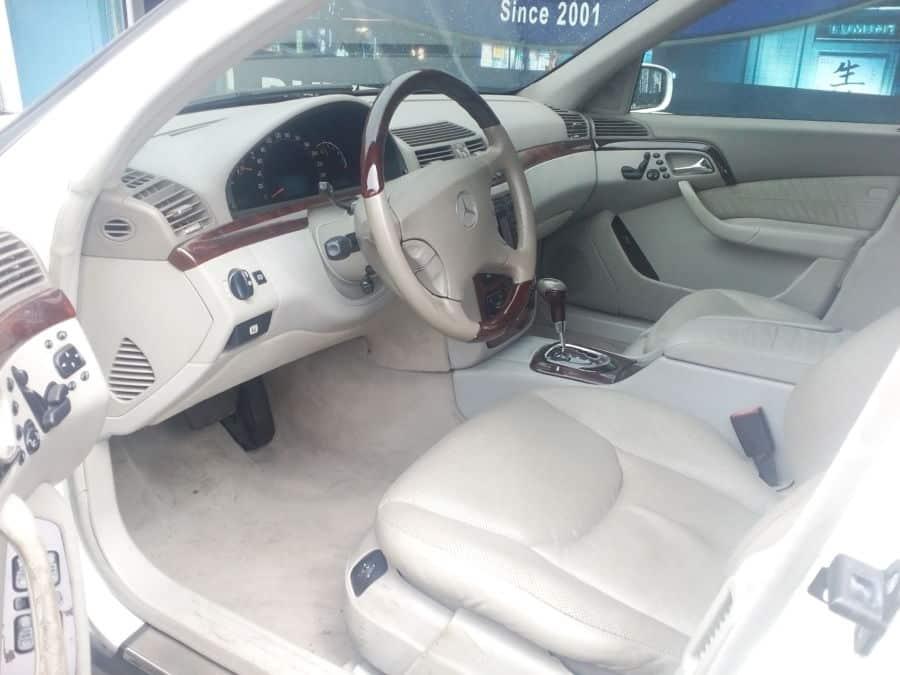 2001 Mercedes-Benz S500 - Interior Front View