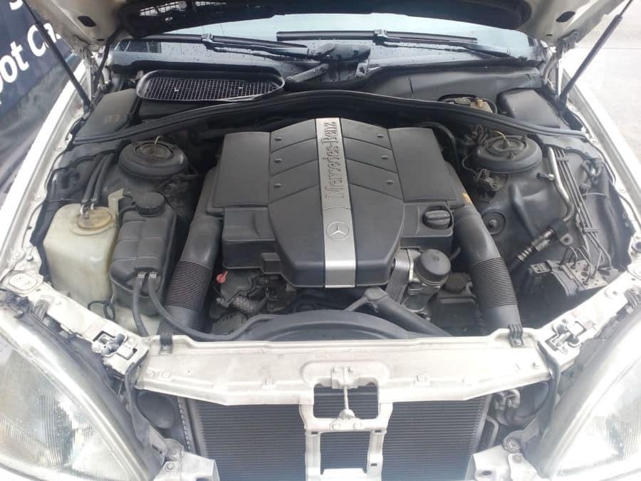 2001 Mercedes-Benz S500 - Interior Rear View