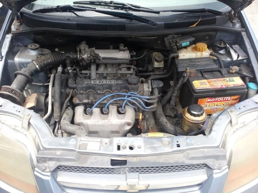 2006 Chevrolet Aveo - Interior Rear View