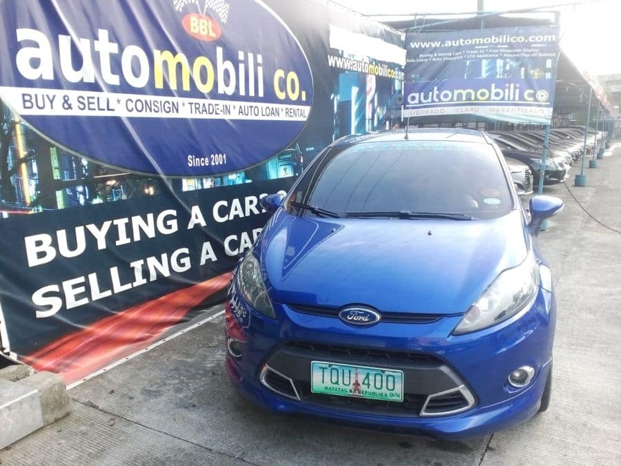 2012 Ford Fiesta - Front View