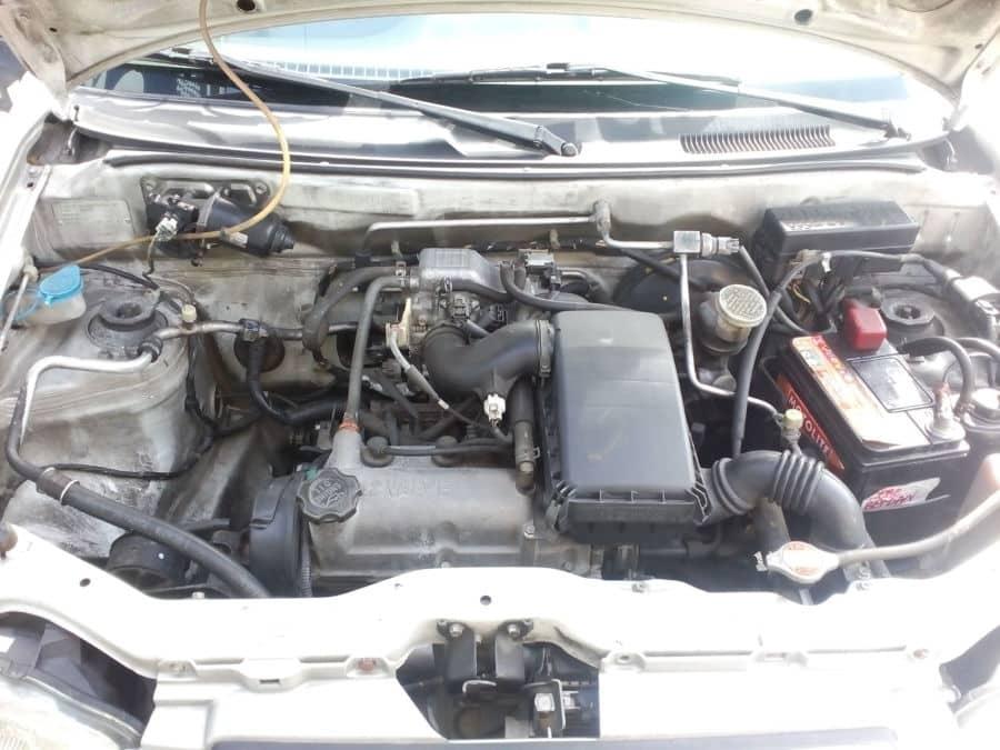 2010 Suzuki Alto - Interior Rear View