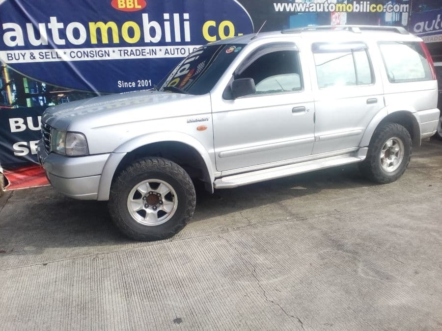 2004 Ford Everest - Left View