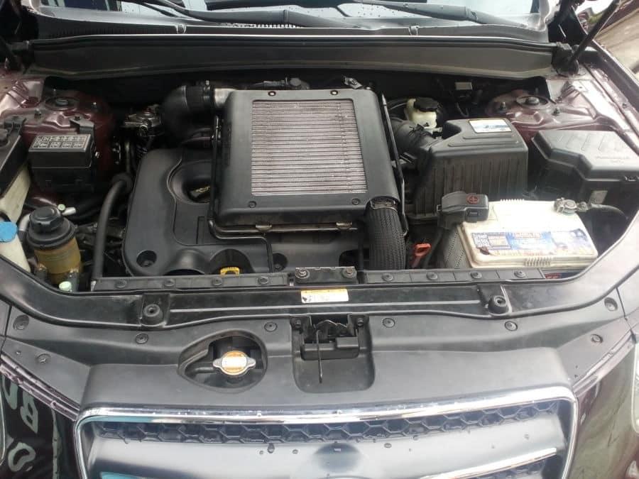 2010 Hyundai Santa Fe - Interior Rear View