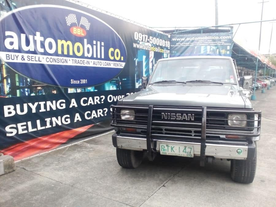 1991 Nissan Patrol - Front View